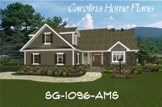 Small Craftsman Cottage house plan great for downsizing, retirees and empty-nesters.