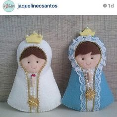 By @jaquelinecsantos ! #imagem #santa #felt #feltro #fielt… | Flickr Foam Crafts, Diy And Crafts, Crafts For Kids, Arts And Crafts, Felt Christmas, Christmas Crafts, Christmas Decorations, Christmas Ornaments, Faith Crafts