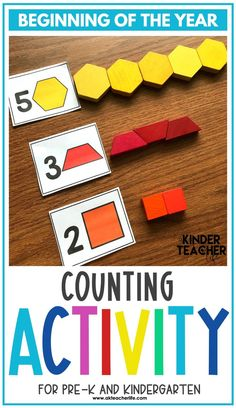 Counting math centers for the beginning of the year for kindergarteners. Using hands-on activities, students will practice counting and identifying numbers 1 to 10 using ten frames, their fingers, drawing pictures, and partner activities. Discover new ways to teach these concepts and download a freebie too! Numeracy Activities, Number Sense Activities, Counting Activities, Activity Centers, Hands On Activities, Math Centers, Kindergarten First Week, Kindergarten Special Education, Number Sense Kindergarten