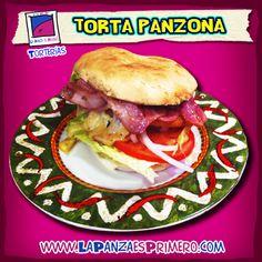 Disfruta de una rica torta, la comida preferida del Chavo del 8. www.lapanzaesprimero.com