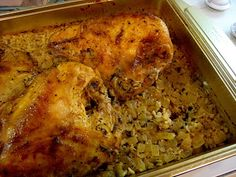 chicken and wild rice with no boxed rice a roni or other yuck...can be made freezer friendly, too