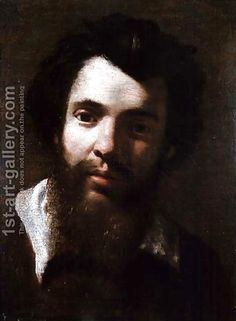 Handmade oil painting reproduction of Annibale Carracci Portrait of Agostino Carracci, brother of the artist - on canvas and available in any size or choose another work from more than 250,000 different oil paintings and 25,000 artists. The highest quality paintings and great customer service!