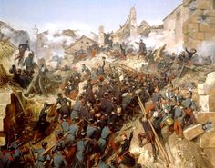 The Assault Columns begin to form up ready to advance on Constantine Algeria…