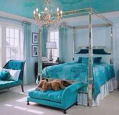 Fave color for a beautiful interior.