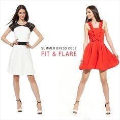summer dress code: fit & flare dresses