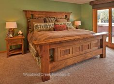Rustic Bedroom Furniture. See Hundreds of Unique Designs at Woodland Creek Furniture.
