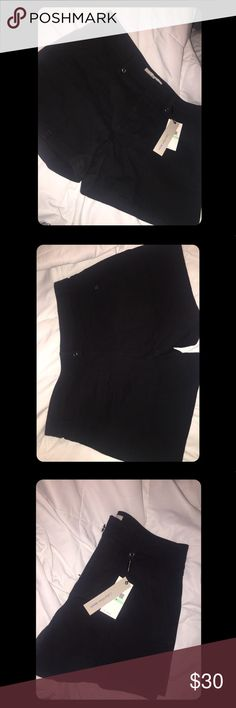 Size 8 Calvin Klein black shorts Calvin Klein black shorts - never worn, new! Cotton material, size 8. I was getting terrible lighting, I'll take better pics soon! Calvin Klein Jeans Shorts