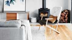 Crazy Ideas: Minimalist Interior House Lights minimalist home living room inspiration.Minimalist Home Living Room Benches minimalist home office room.Minimalist Home Diy Wardrobes. My Living Room, Home And Living, Living Room Decor, Living Spaces, Small Living, Cozy Living, Living Area, Living Room With Stove, Living Room Heater