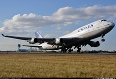 Boeing 747-422 - United Airlines | Aviation Photo #2121899 | Airliners.net Boeing 747 400, Boeing Aircraft, Jumbo Jet, Air Space, Commercial Aircraft, United Airlines, Civil Aviation, Aircraft Pictures, Military Aircraft