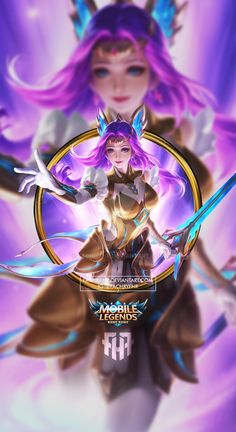 Wallpaper Phone Odette Zodiak Virgo by FachriFHR on DeviantArt Mobile Legend Wallpaper, Hero Wallpaper, Mobiles, Chibi, Drawing Heads, Legend Games, Disney Princess Frozen, The Legend Of Heroes, Joker Wallpapers