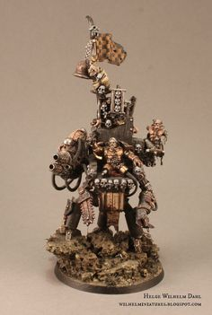 WilhelMiniatures: Armies on Parade 2015 part VI: Lord Inquisitor Hannibal Rex and Retinue