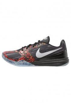 Nike Performance - KOBE MENTALITY - Scarpe da basket - black/chrome/anthracite/cool grey/bright crimson
