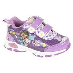 Disney Girl's Toddler Doc Mcstuffins Sneaker - Lights Up Light Up Sneakers, Blue Sneakers, Girls Sneakers, Boys Shoes, Disney Princess Toddler, Disney With A Toddler, Disney Girls, Disney Jr, Little Girl Shoes