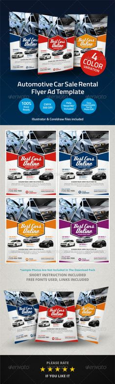 Exclusive Car Rental Flyer Template  Flyer Template