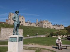 """Dover Castle, Kent, UK----underground tunnels and """"war""""rooms, planning strategies for WWII."""
