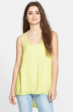 BP. Shirred Back Tank (Juniors) available at #Nordstrom