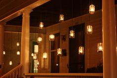 Rustic mason jar patio lights mason jars pinterest patio love this workwithnaturefo