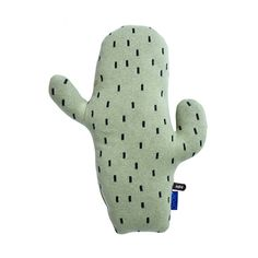 OYOY offers a selection of kid's decorative cactus cushions in a variety of colors. Designed in Denmark, and now available online at Designstuff.