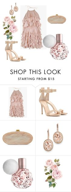 COCKTAIL DRESS, SO CUTE! by jovanovic-ivana on Polyvore featuring Balmain, Gianvito Rossi, Edie Parker, Kevin Jewelers and ARI