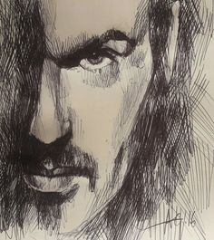RIP my ink sketch tribute this Xmas night. George Michael, Sketches, Ink, Portrait, Drawings, Painting, Drawing Drawing, Headshot Photography, Painting Art