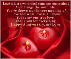 42 Best Anniversary Quotes Images Girlfriend Quotes Hubby Quotes