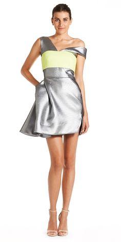 Fiction Cocktail Dress worn with the Aero Bustier tonimaticevski.com