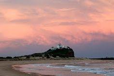 Newcastle - Nobby's lighthouse Newcastle Australia