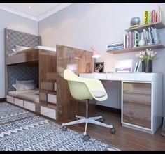 Boys Room Furniture on Behance