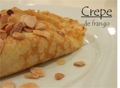 Crepe de frango / Chicken crêpe