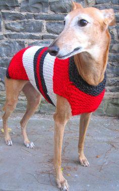 Dog sweater-hand knit dog sweater/all size dog coat/greyhound sweater/whippet sweater/pitbull coat/Shih tzu sweater/Pug coat/daschund coat