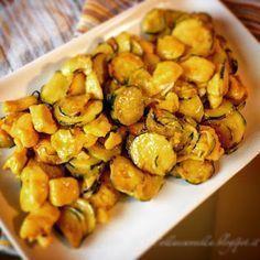 """Colla&Cannella: """"Straccetti di pollo con zucchine e zafferano"""""""