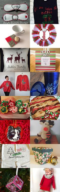 Christmas Gift ideas 2 by Cheryl Town on Etsy--Pinned+with+TreasuryPin.com