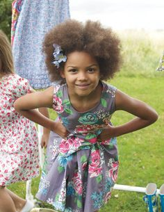 Boden has the best quality and style in clothes for growing children.