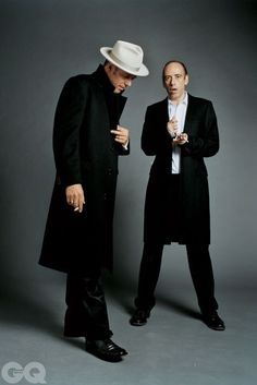 Paul and Mick