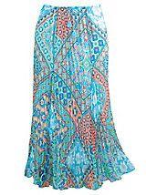 Ruby Rd. Ti Amo Printed Broomstick Skirt | Old Pueblo Traders