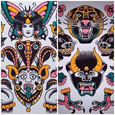 Chris Mettraux - tatouages