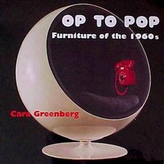 "Op to pop : furniture of the 1960s : From Joe Colombo's ""kitchen in a cart"" to Olivier Mourgue's Djinn chairs from 2001: A Space Odyssey, from the lipstickted touch shaped like Marilyn Monroe's lips to Eero Aarnio's space-age Ball chair, sixties furniture still has the power to statle and to delight. Op to Pop is a thorough guide whose original, readable scholarship places sixties furnishings in their social and design contexts. Cara Greenberg."
