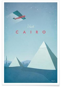 Cairo als Premium Poster von Henry Rivers | JUNIQE