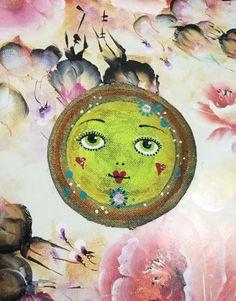 Nášivka sluníčko Painting, Art, Art Background, Painting Art, Kunst, Paintings, Performing Arts, Painted Canvas, Drawings