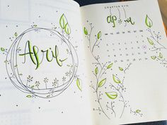 I know its just barely February but... #bujojunkies #bujo #bulletjournal #april #planneraddict #planner #studygram #studyspo