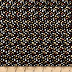 Timeless Treasures Mini's Paws Neutral from @fabricdotcom  From Timeless Treasures, this cotton print fabric features tiny little pawprints from our favorite pup. Perfect for quilting, apparel and home decor accents. Colors include black, white, red and shades of brown and grey.