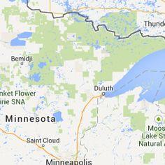Colorado to Minnesota - Google Maps