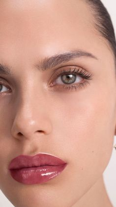 Introducing Burberry Kisses Lip Lacquer, Burberry's first long-lasting liquid lip lacquer with a glossy, laminated finish. Makeup Inspo, Makeup Inspiration, Beauty Makeup, Eye Makeup, Hair Makeup, Runway Makeup, Beauty Tips, Wedding Inspiration, Style Inspiration