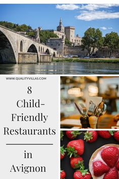 A gorgeous medieval town, Avignon is an exciting family destination. For the best family places to eat, take a look at our eight suggestions. French Villa, Family Destinations, Medieval Town, Property For Rent, French Riviera, Places To Eat, Villas, Provence, Family Travel