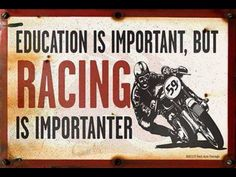 Racing is Life.