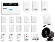 Fortress Security Store (TM) S02-E Wireless Home Security Alarm System DIY Kit with Auto Dial + Outdoor Siren, Glass Sensor & More for Complete Business and Home Security Brand: Fortress Security Store