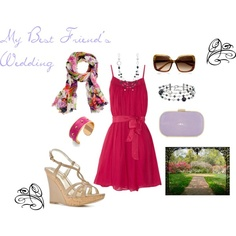 Garden Wedding Party outfit created by exxpress on polyvore.  Hey, not bad for my first set ever, right?