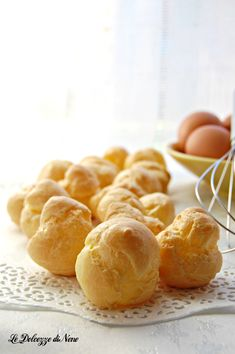 pasta choux Cake Recipes, Snack Recipes, Snacks, Profiteroles, Strudel, Antipasto, Cacao, Biscotti, Nutella
