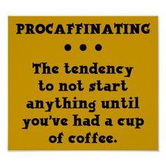 Así pues, tengo procafeína