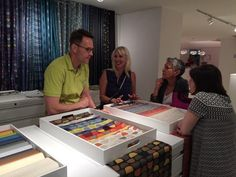We had a wonderful time showing off #Topstitch with @pallastextiles @KItweets #NeoCon15 #NeoConography #Grateful